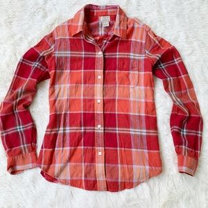 Lucky Brand • 100% cotton button up flannel